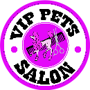 Vip Pets Salon Logo